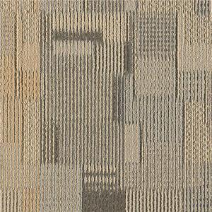 China Solution Dyed Method Nylon Carpet Tiles With Pvc Backing Modern Design on sale