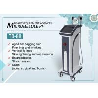 60HZ Fractional RF Microneedle Machine For Wrinkle Removal / Skin Whitening Tightening