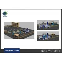 China Network Interface Vehicle X - Ray Scanner For Traffic Control Points Inspection on sale