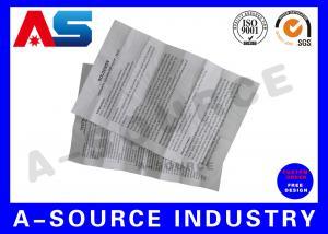 China Brochure Package Insert Printing  Folded Flyer Leaflet Printing Carton Medicine Box Instruction on sale