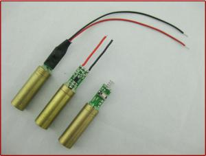China Industrial Grade 532nm 100mw Green Dot Laser Module For Electrical Tools And Leveling Instruments on sale