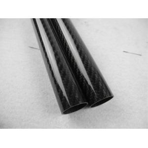 Quality Matte 3k Twill / Plain Weave Full Carbon Fiber Tube 16mm*14mm Tolerance ±0.1mm for sale