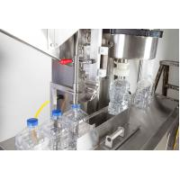 Semi Automatic Shampoo Bottle Filling Machine With PLC Control Customized Size