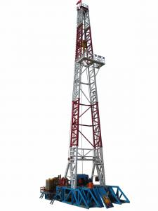 China Electrical Onshore Steel Oilfield Drilling Equipment With 4000 - 7000 M Drilling Depth on sale
