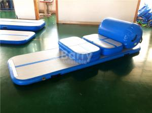China Custom Made Air Board / Beam / Block Inflatable Air Tumble Track For Gym 20cm Height on sale