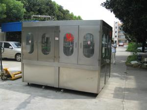 China Easy Operating Pure Water Filling Machine With Concentrated Lubrication System on sale
