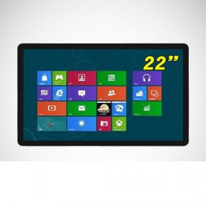 China 22 Inch Touch All-in-one PC,TFT Touch Screen Digital Signage,multi-touch digital signage on sale
