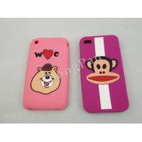 FDA, ROHS, LFGB Cute Cartoon Custom Silicone Cases for HTC Nokia Samsung Cellular Phone