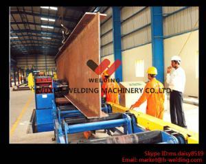 China Haz motorizado de elevación del reborde H del transportador que endereza el tipo mecánico/hidráulico de la máquina on sale