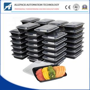China Freezer Safe Plastic Meal Prep Containers Restaurant Food Containers With Lids on sale