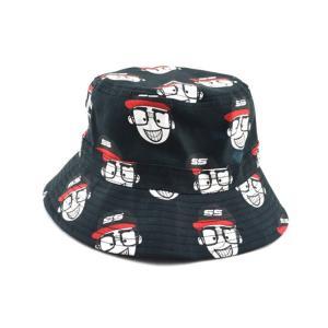 China 100% cotton cheap custom bulk printed folding men bucket cap bucket hats size 58-60  Digital printing on sale