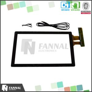 China 15.6 Inch G+G Large Format Capacitive Touch Screen Panel With EXC7200 Driver IC on sale