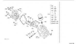 52807-1118-3 Gasket Hydraulic Cylinder Parts For Kubota