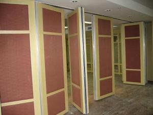 China Multi Color Wall Panels Soundproof Movable Partition Banquet Hall Acoustic Room Divider on sale