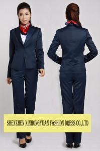 Ladies Corporate Office Uniforms Womens Dress Suits With Shirt