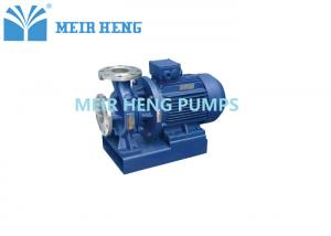 China ISWH Stainless Steel Centrifugal Water Pump Inline Horizontal For Chemical on sale