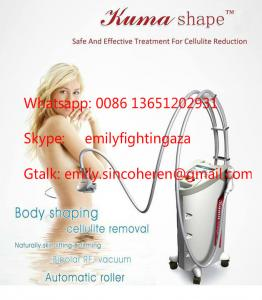 China in shape cellulite fat melting RF Kuma shape/ Body Cavitation Vacuum Shaping Machine/ laser slimming machine/ lipo on sale