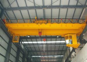 China Customized Double Girder EOT Crane With Heavy Duty Open Winch Trolley Hoist on sale
