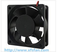 China 60*60*20mm 12V/24V Air Purifier DC Black Plastic Axial Flow Fan DC6020 on sale