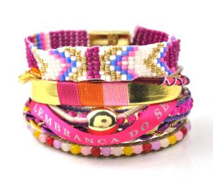 China 2015 Multilayer Bohemia Beads Pulsera Magnetic Bracelet&bangle Brazil Ipanema Bracelet on sale