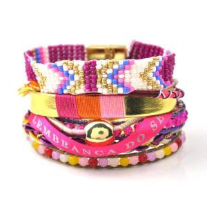 China 2015 Multilayer Bohemia Beads Pulsera Magnetic Bracelet&bangle Brazil Ipanema Bracelet on sale