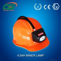 Underground High Power LED Mining Lamp Rechargeable 6.6Ah IP65
