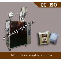 Costa Rica Drip Coffee Packaging Machine with Outer Envelope 304 Stainless Steel Drip Coffee  Bag Packing Machine