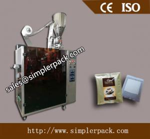 China Costa Rica Drip Coffee Packaging Machine with Outer Envelope 304 Stainless Steel Drip Coffee  Bag Packing Machine on sale
