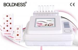 China Portable Body Lipo Laser EMS Slimming Machine For Skin Tighten , Non - Invasive CE 110V 60HZ on sale
