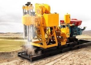 China 200m Portable Diesel Borehole Small Water Well Drilling Rig Machine on sale