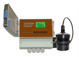 China Clamp On Doppler Ultrasonic Flow Meter Four Transient Flow For Industrial on sale