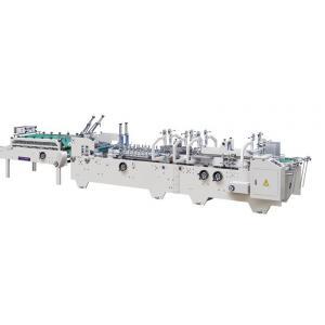 China Pre - folding and Crash lock Bottom Automatic Packing Machine Folder Gluer on sale