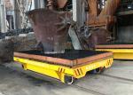 35 Ton Metallurgy Industry Motorized Steerable Rail Transport Car For Slag Scrap Handling