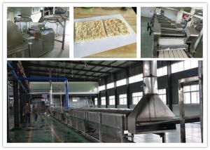 China Automatic Instant Noodle Making Machine , Noodles Plant Machine 12 Months Warranty on sale