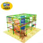 High Strength Rope Play Equipment , Indoor Play Centre Equipment Durable