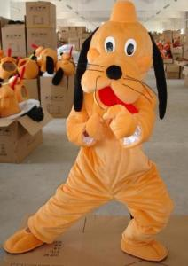 Quality Cartoon Custom Character pluto dog mascot costumes with funny images for sale