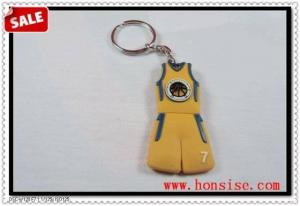 China Soft PVC Keychain on sale