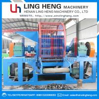 China Customizable Recycling Waste Tire LH600-LH2000 Shredder Machine/Rubber Shredder Machine For Sale on sale