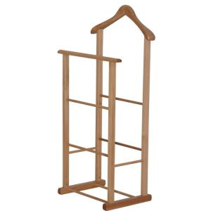 China Factory Supplier Wooden Clothes Rack Stand High Quality Katus Or OEM Style for Hotel on sale