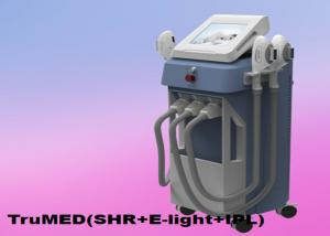 China IPL Hair Removal Machine 3500W Vertical 3Handles E-light TruMED(SHR+IPL+Nd:Yag) on sale