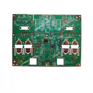 China Multilayer Rogers PCB WR-15 Gain Horn Antenna 10 Layer HF Immersion Gold PCB on sale