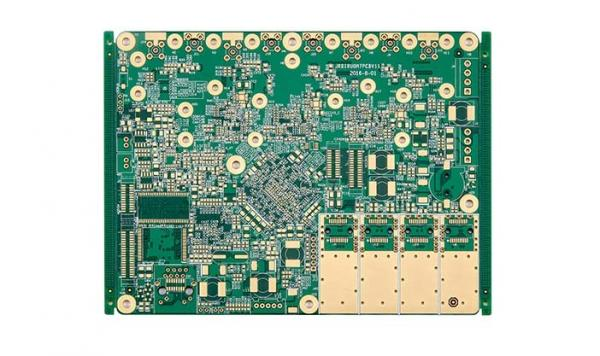 0 25MM Immersion Gold High Frequency PCB Design 12 Layer PCB Board 4