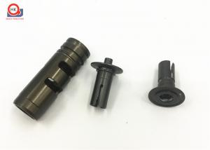 China Hard Anodized Custom Machined Aluminum Parts For Racing Shaft Components on sale
