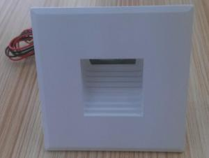 China Mini Recessed Indoor Led Wall Lights , Stair Step White Wall Lights Changable Covers on sale