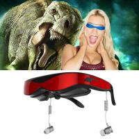 A8/8GB Flash/Max 32GB TF Card 98 inch Virtual Screen with AV IN Function 3D Video Glasses