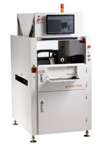 China Large Double Track Solder Paste Inspection Machine D450 Gerber Data Conversion And Import on sale