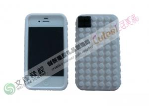 China Blocks Design iPhone Silicone Case Shock Proof Distribute from China Factory on sale