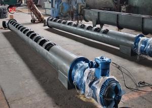 China Small Hopper Auger Screw Conveyor Flexible Long Conveyor Pellet Ribbon on sale