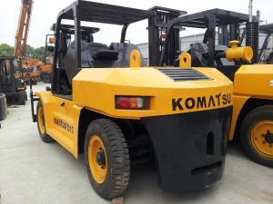 China used komatsu 10 ton forklifts for sale / second hand komatsu forklifts on sale