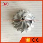 RHF4H 37.10/52.51mm 10+0 blades high performance turbo turbocharger aluminum 2618/Billet/milling compressor wheel